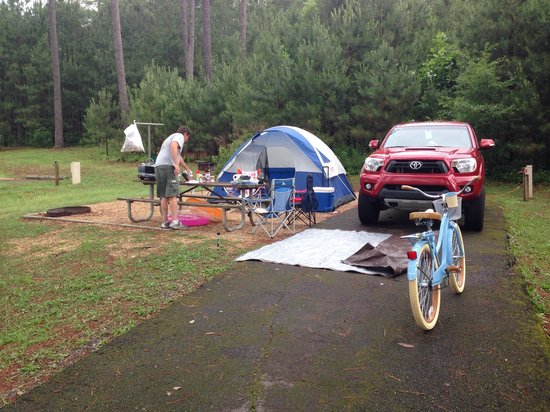 Camping at Sweetwater Campground