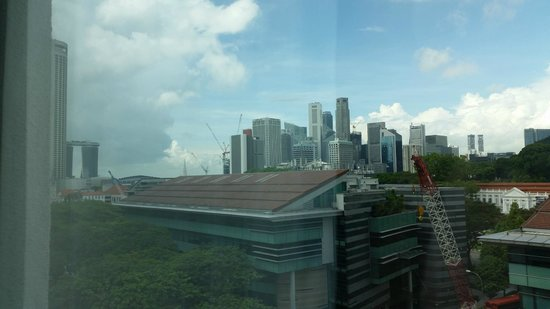 Rendezvous Hotel Singapore by Far East Hospitality: view from our room (708)