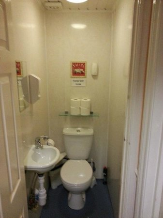 Central Hotel: This is the porcelain throne room