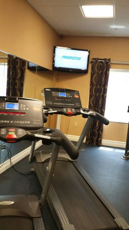 Holiday Inn Express Hotel & Suites Saint Augustine North: Gym