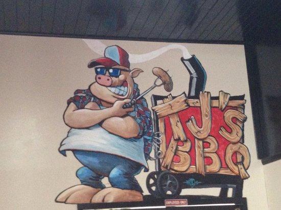 Tj's BBQ: Logo