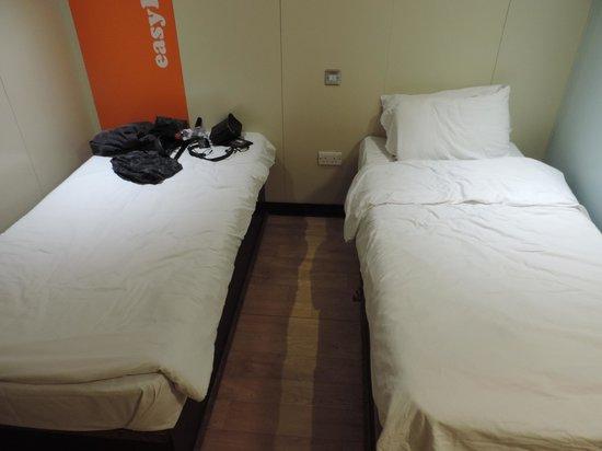 easyHotel Old St / Barbican: deux lits simple
