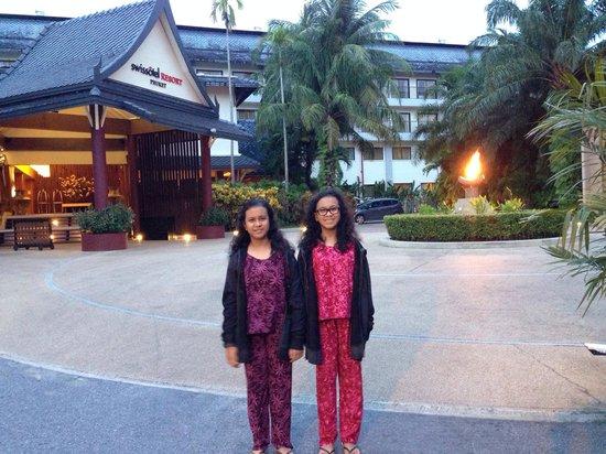 Swissotel Resort Phuket Kamala Beach: the hotel..