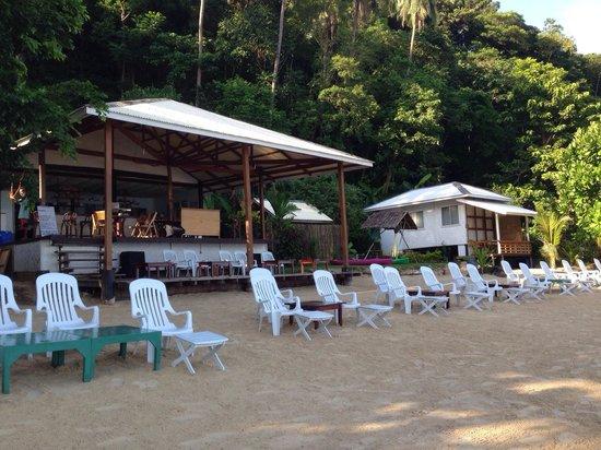 The Beach Shack : Beach front bar and restaurant