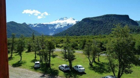 Hosteria Pampa Linda: Vista desde la habitacion