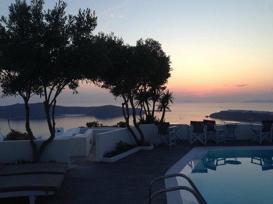 Remezzo Villas: View from the hotel
