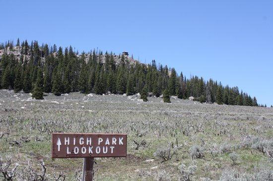 Bighorn National Forest: High Park Lookout