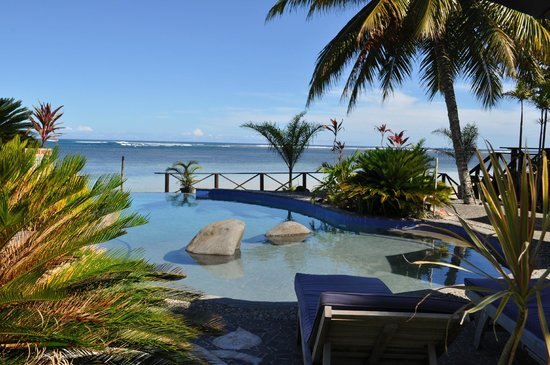 Le Lagoto Resort & Spa: View from the bar