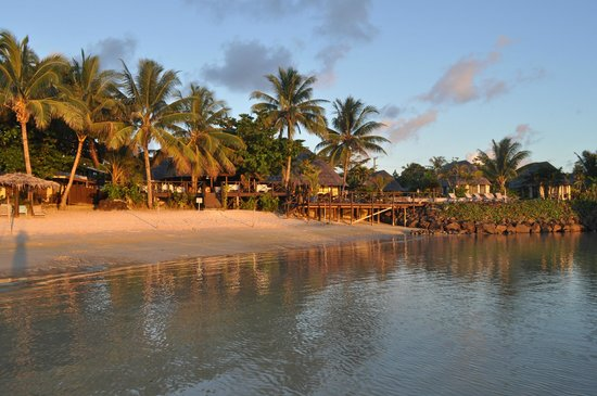 Le Lagoto Resort & Spa: View from the beach