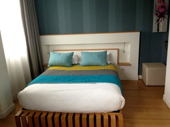 Hotel Ambre: bed