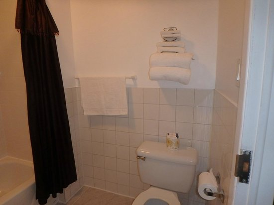 Motel Econo-Nuit : Salle de bains