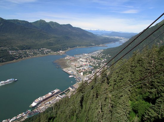 Goldbelt Mount Roberts Tramway : The view!
