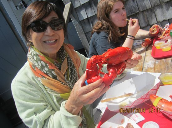Roy Moore Lobster Co: How fresh is that!