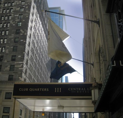 Club Quarters Hotel, Central Loop: A very pleasant urbane place to stay
