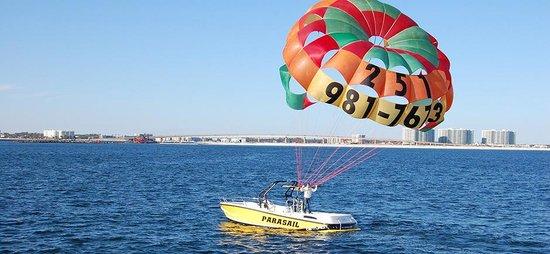 Orange Beach Parasailing Paragliding