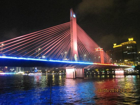 The Westin Guangzhou: Pearl River cruise