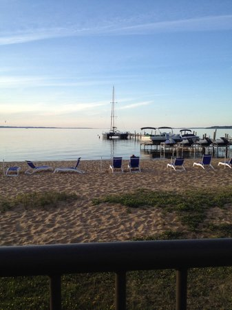 West Bay Beach, a Holiday Inn Resort: View from the patio of Day Club