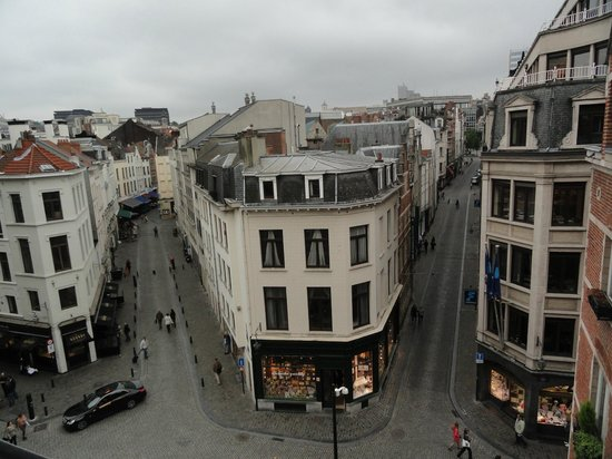 view from our room picture of hotel amigo brussels tripadvisor. Black Bedroom Furniture Sets. Home Design Ideas