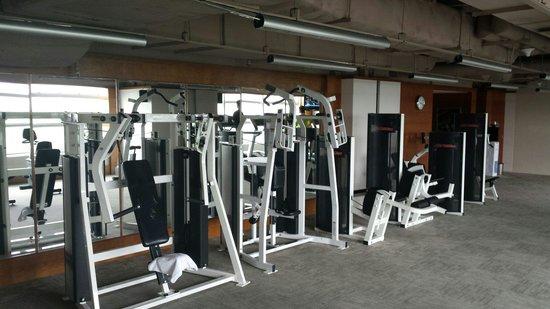 New World Shanghai Hotel: Gym