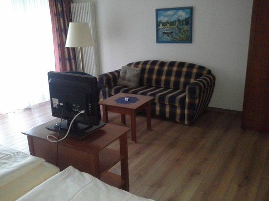 Moselromantik Hotel Panorama: goed zittend salon