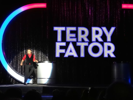 Terry Fator - The Voice of Entertainment : Pregame show