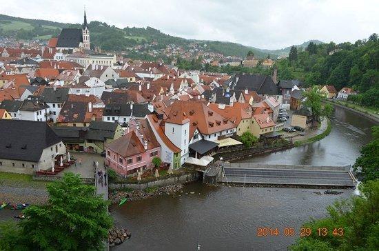 Historic Center of Cesky Krumlov: チェスキークルムロフ1