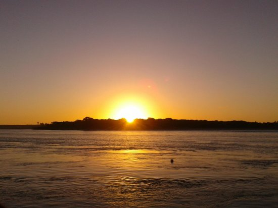 Praia Tibau do Sul: Por do sol da Praia do Tibaú do Sul