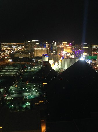 Mix - Las Vegas: Vegas skyline from MIX