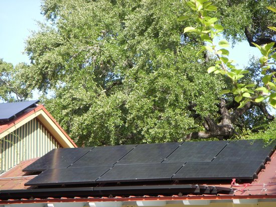 Park Lane Guest House: Solar powered cottages