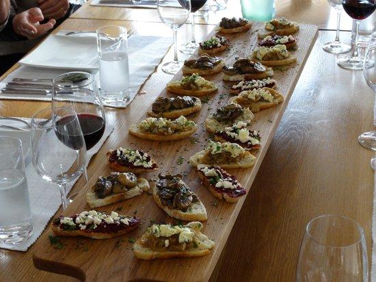 The Akaroa Cooking School : bruchettas