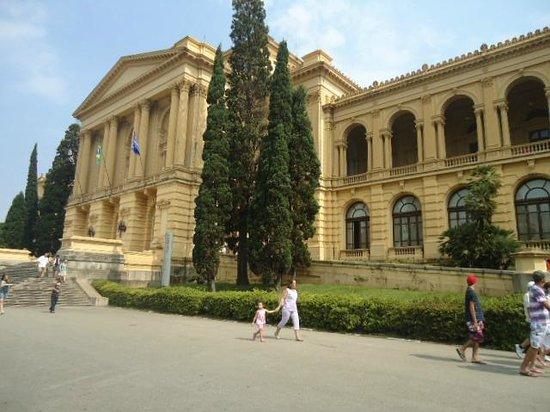 Museu Paulista (Museu du Ipiranga) : Visão externa.