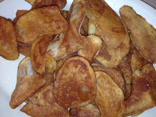 Blue Hangar Cafe: An order of hand fried chips