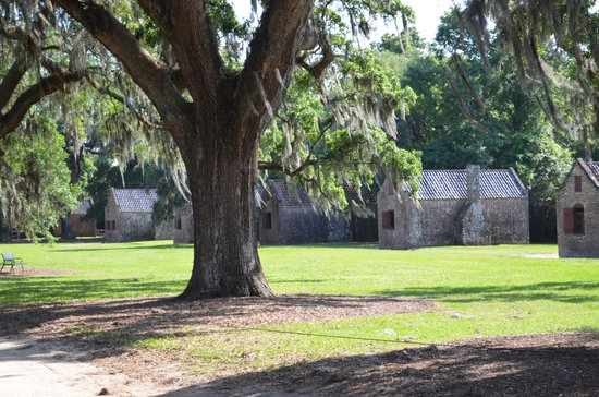 Boone Hall Plantation: slave quaters