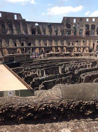 Colosseum: vista interna