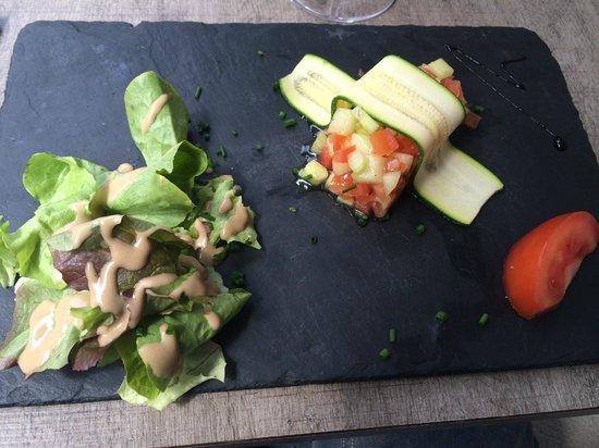 Brasserie La Cantine de Deauville: Tartare Légumes