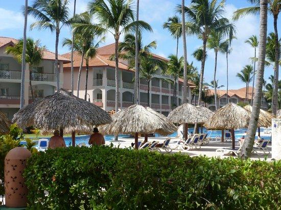 Majestic Colonial Punta Cana : vista dos apartamentos