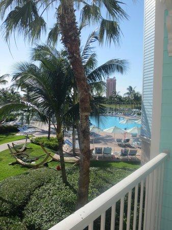 Atlantis - Harborside Resort: view from patio