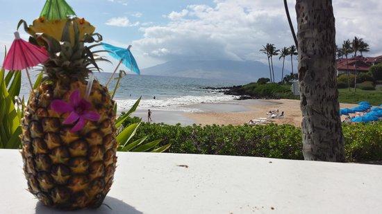 Fairmont Kea Lani, Maui: yummy bevie from the Fairmont Kea Lani