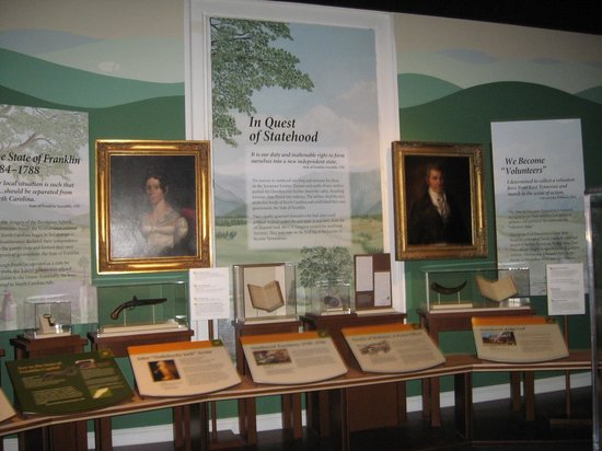 East Tennessee History Center: Example of historical exhibits
