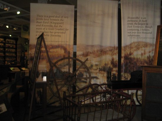 East Tennessee History Center: Tools of the early days