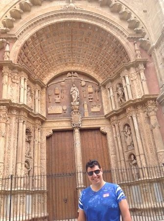 Catedral de Mallorca: porta principal