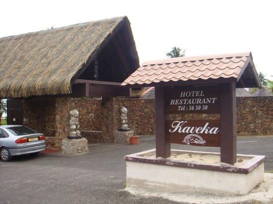 Hotel Kaveka: Entrée d'hotel