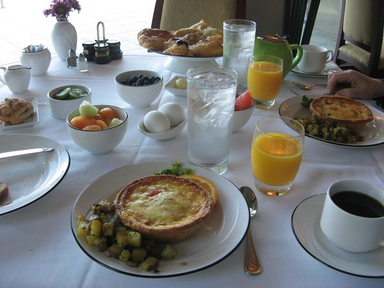 "Whale Cove Inn: This was our ""continental"" breakfast."