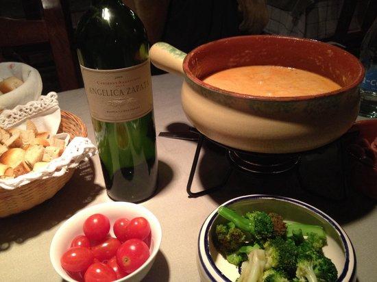 Chez Philippe: Founde de tomate. Muito bom.