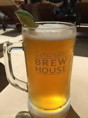 Louisiane Brewhouse: passion fruit beer