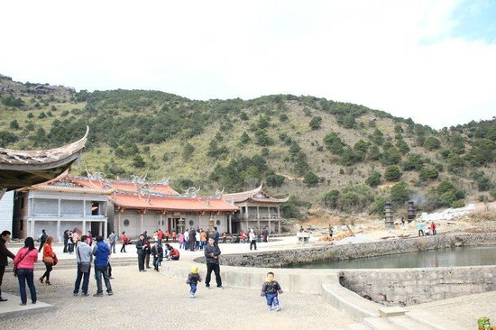 Temple on Shiniu Mountain