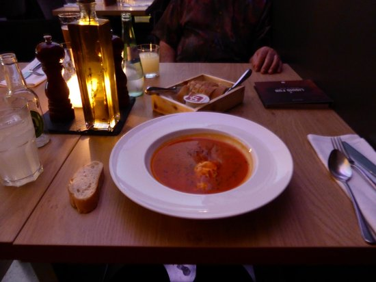 pentahotel Wiesbaden: Cream Of Tomato Soup