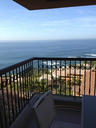 Grand Fiesta Americana Los Cabos All Inclusive Golf & Spa: First morning in Cabo from our balcony
