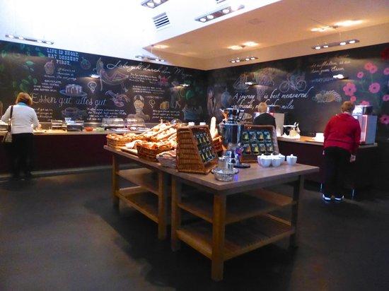 pentahotel Wiesbaden: Breakfast