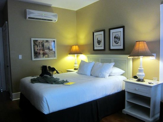 Hotel Vyvant: Room C, single with private bath
